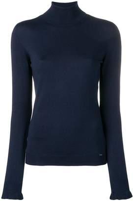 Liu Jo roll-neck fitted sweater