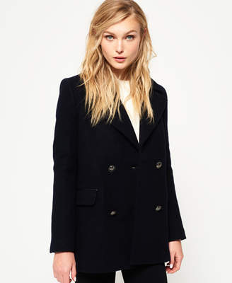 Superdry Classic Wool Pea Coat