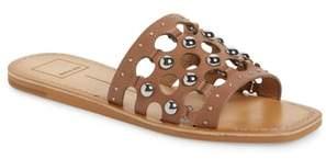 Dolce Vita Celita Perforated Studded Slide Sandal