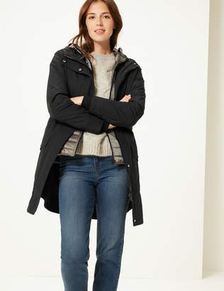 Marks and Spencer Double Layer Parka with Stormwear