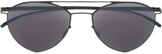 Mykita tinted aviator sunglasses
