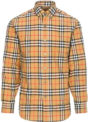 Burberry Jameson Shirt Botton Down Classic Check
