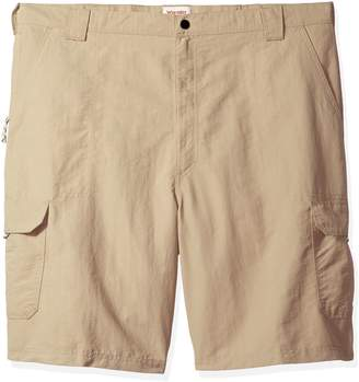 Wrangler Men's Big and Tall Authentics Outdoor Nylon Cargo Short