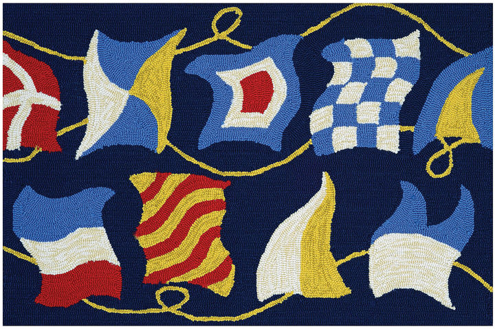 CouristanCouristan Regatta Hooked Rectangle Accent Rug