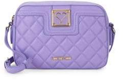Love Moschino Quilted Camera Bag