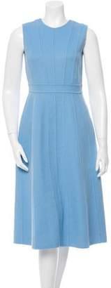 Rochas Wool & Angora-Blend Dress w/ Tags