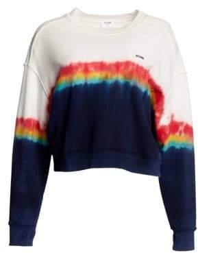 RE/DONE Rainbow Tie Dye Sweatshirt