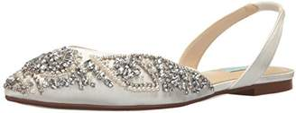 Betsey Johnson Blue by Women's Sb-Molly Pointed Toe Flat