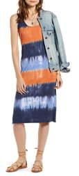 Treasure & Bond Sleeveless Dip Dye Tank Dress