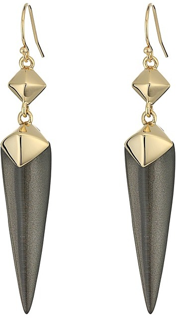 Alexis Bittar Alexis Bittar Double Pyramid Drop Earrings