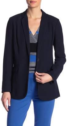 Diane von Furstenberg Vint Woven Blazer Jacket
