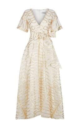 Temperley London Tapis Wrap Dress