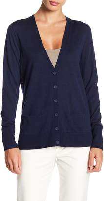 Halogen V-Neck Pocket Cardigan