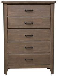 Union Rustic Lade 5 Drawer Chest