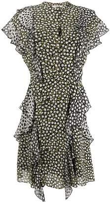 Schumacher Dorothee printed ruffle dress