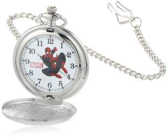 Marvel Men's W000461 Spider-Man Pocket Watch