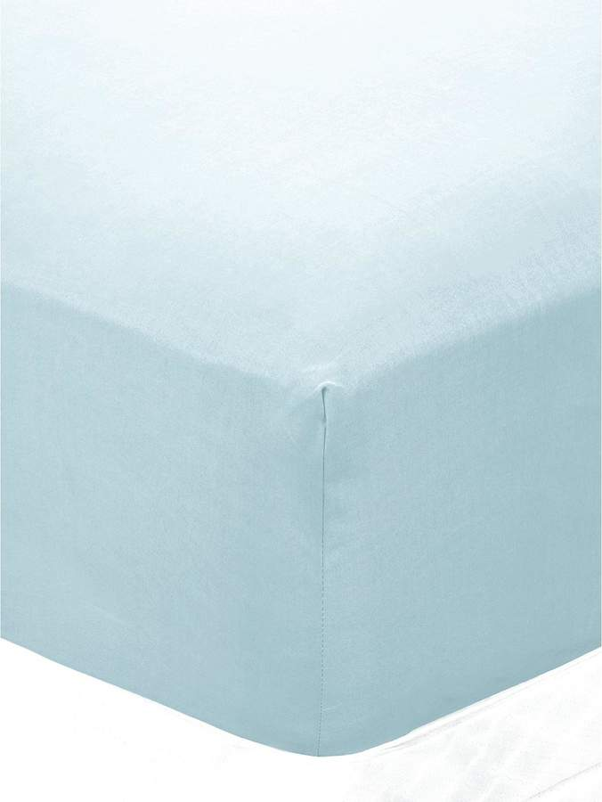 Pure Cotton 200 Thread Count Extra Deep Fitted Sheet 30cm