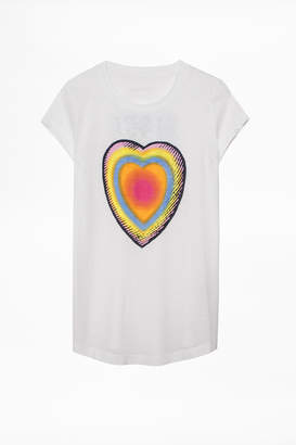 Zadig & Voltaire Skinny Disco T-Shirt