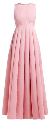 Maison Rabih Kayrouz Panelled Faille Gown - Womens - Pink