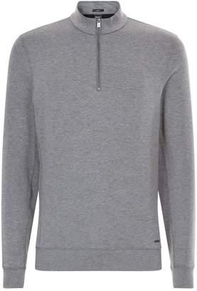 HUGO BOSS Zip-Up Sweatshirt