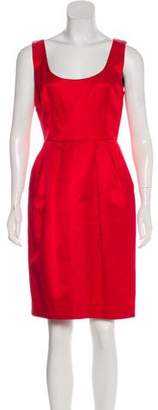 Dolce & Gabbana Belted Sheath Dress
