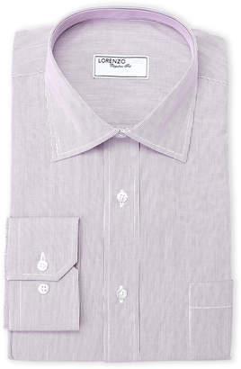 Lorenzo Uomo Pink Stripe Dress Shirt