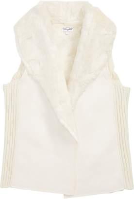 Splendid Faux Fur Vest