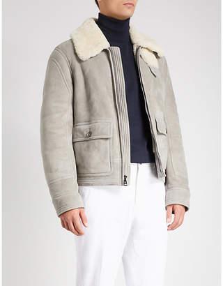 Ralph Lauren Purple Label Shearling jacket