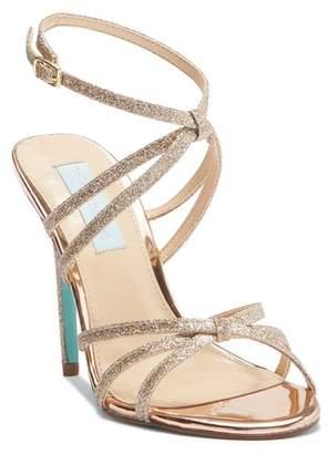 Betsey Johnson Myla Glitter Strappy Sandal