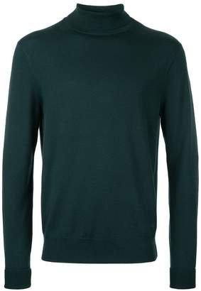 Kent & Curwen roll neck jumper