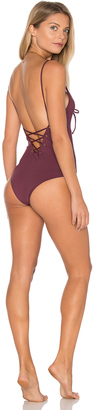 TAVIK Swimwear Monahan One Piece Swimsuit $126 thestylecure.com
