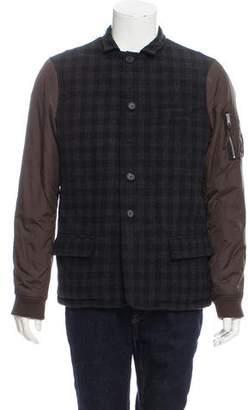 AllSaints Hamlin Wool-Blend Jacket