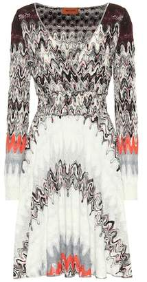 Missoni Knitted wrap-effect dress