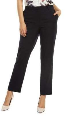 Dex Classic Straight-Leg Pants
