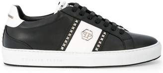 Philipp Plein studded logo low-top sneakers