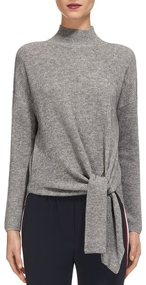 Whistles Tie Waist Ribbed Sweater $230 thestylecure.com