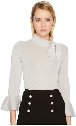 Kate Spade Metallic Knot Sweater Women's Sweater