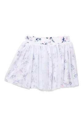 Splendid Floral Print Tutu Skirt (Little Girls)