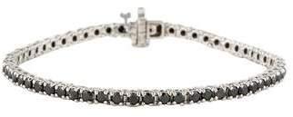 Black Diamond 14K Line Bracelet
