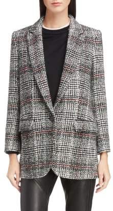 Etoile Isabel Marant Ice Check Wool Blazer