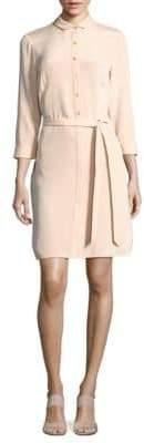 Lafayette 148 New York Agner Solid Silk Dress