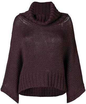 Fabiana Filippi roll neck knitted sweater