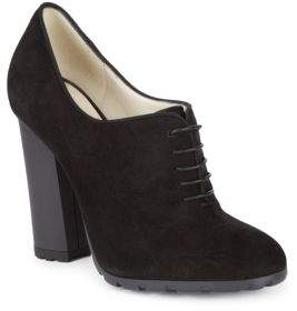 Oxford Suede Booties