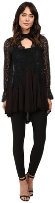 Free People Tell Tale Lace Tunic $128 thestylecure.com