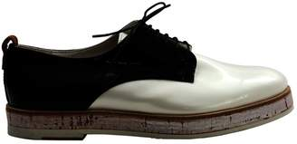 AGL Patent Leather Lace Ups