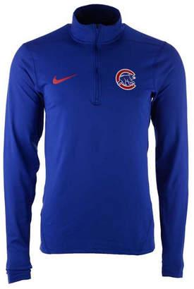Nike Men's Chicago Cubs Dry Element Half-Zip Dri-fit Pullover