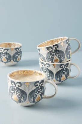 Anthropologie Tanja Mugs, Set of 4