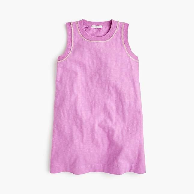 Girls' tank dress
