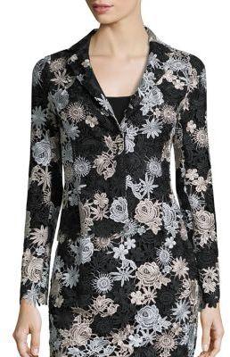 Nanette Lepore Jackpot Lace Jacket $478 thestylecure.com