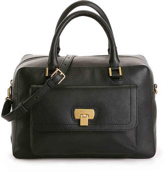 Cole Haan Hinge Lock Leather Satchel - Women's